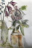 Mixed flowers by judith cockram, Painting, Mixed Media on paper